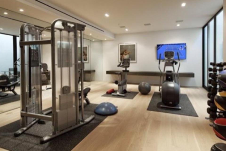 Sectors gei ireland fitness industry sectors gym for Luxury home gym