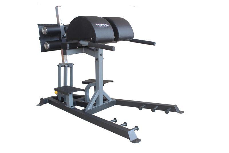 primal strength, GHD machine , glute - primal strength, GHD machine
